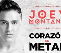 """Joey Montana estrena sencillo """"Corazón de Metal"""""""