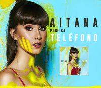 """AITANA  presenta su videoclip oficial y nuevo tema """"Teléfono"""""""