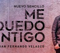 """JUAN FERNANDO VELASCO ESTRENA """"ME QUEDO CONTIGO"""""""